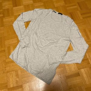 Selected Homme Silk Cotton Scoop Neck Sweater